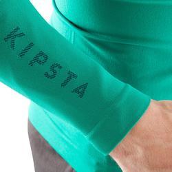Thermoshirt Keepdry 500 met lange mouwen groen