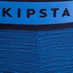 Adult Tights Keepdry 100 - Heathered Blue