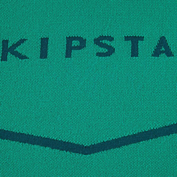 Camiseta térmica transpirable manga larga adulto Keepdry 500 verde esmeralda