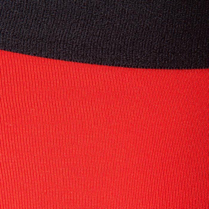 Short térmico de fútbol adulto Keepdry 100 rojo