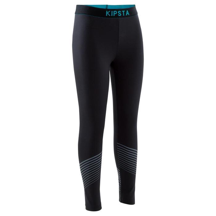 Collant chaud et respirant adulte Keepdry 900 noir ceinture bleue - 1184420