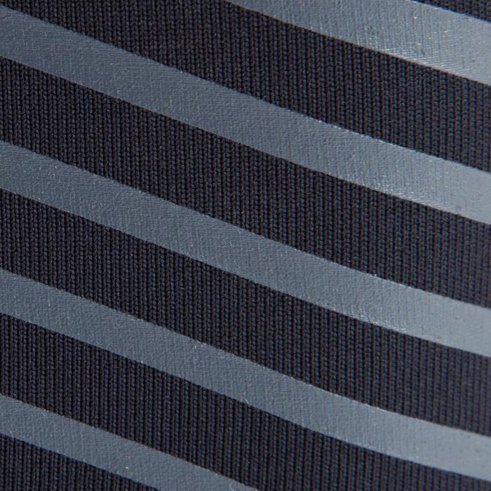 Mallas largas de fútbol cálidas adulto Keepdry 900 negro cintura azul