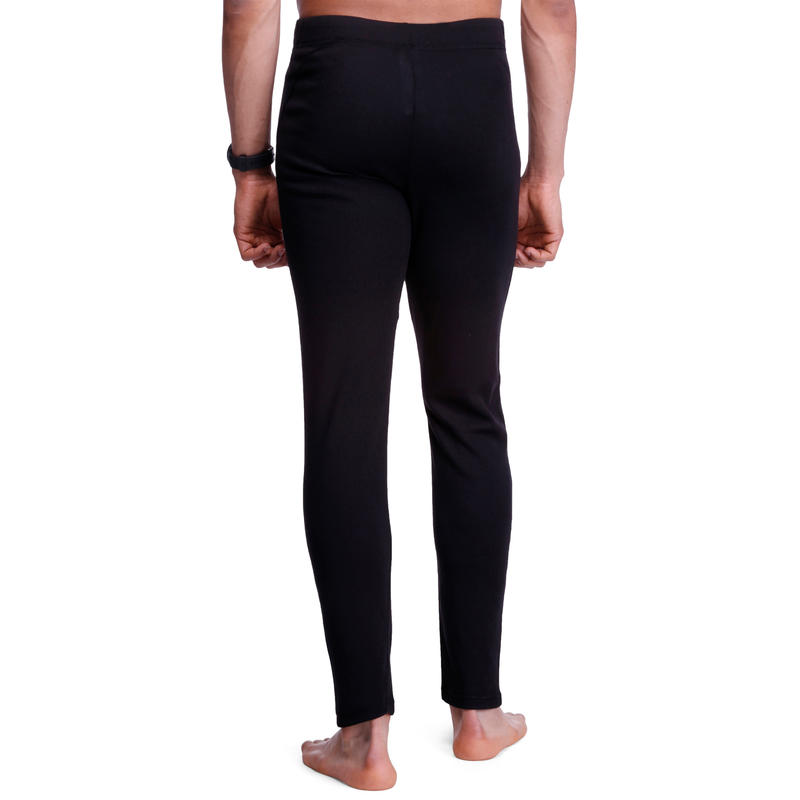 Men's Ski Base Layer Bottoms BL 100 - Black