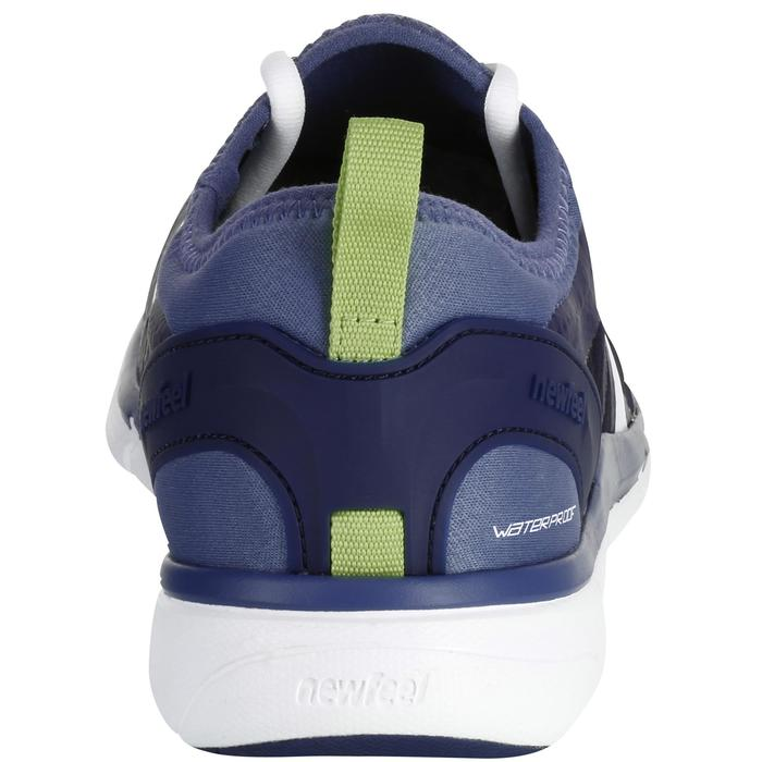 Chaussures marche sportive homme PW 580 Waterproof bleu / gris