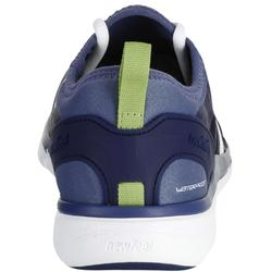 Herensneakers voor sportief wandelen PW 580 RespiDry waterdicht blauw/grijs