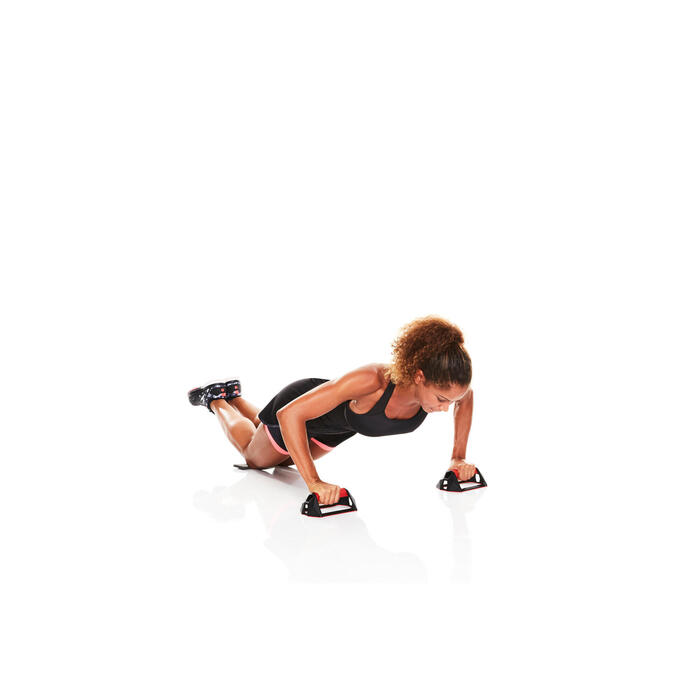 Opdruksteunen voor crosstraining Push Up Wheel