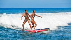 Dames bikinibroekje met striksluiting opzij Sofy Malibu - 1184743