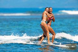 Dames bikinibroekje Nina Keola Martinica voor surfen - 1184746