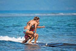 Dames bikinibroekje Nina Keola Martinica voor surfen - 1184749