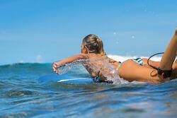 Dames bikinibroekje met striksluiting opzij Sofy Malibu - 1184754