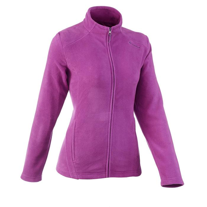 Fleecejacke Forclaz 200 Damen Flieder