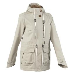 NH500 Protect Women's Waterproof Country Walking Parka Jacket - Beige