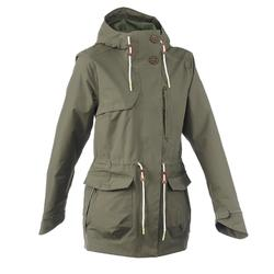 NH500 Protect women's country walking waterproof parka - khaki