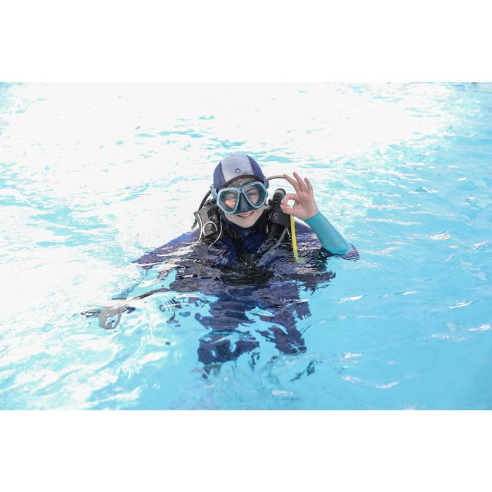 Combinaison intégrale de plongée sous-marine enfant SCD100 junior néoprène 5,5mm