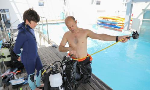 faire découvrir la plongée aux enfants subea decathlon