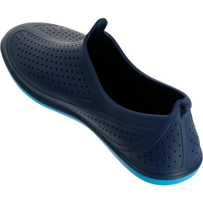 Escarpín Piscina Mujer Nabaiji Aquagym Aquabike Aquafitness Azul Oscuro