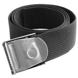 Cinturón Lastre Buceo Subea SCD 500 Hebilla Inoxidable Negro