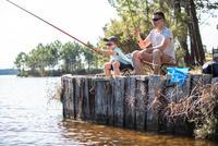 Ensemble découverte de la pêche FIRST FISH 300 RED