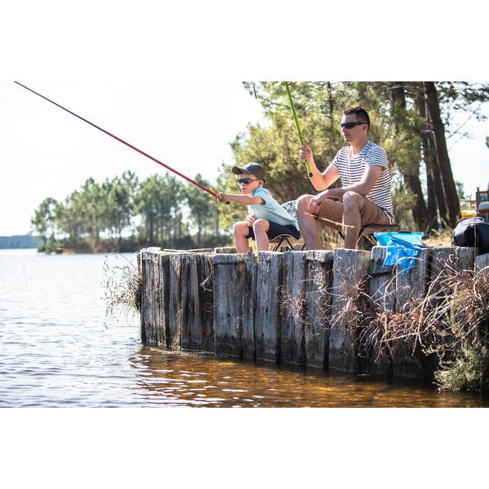 Kennismakingsset hengelsport First Fish Pocket 300 rood