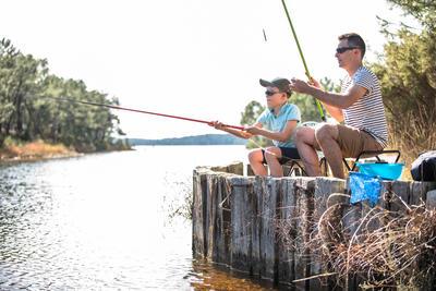 Panoplie découverte de la pêche FIRST FISH 300 GREEN