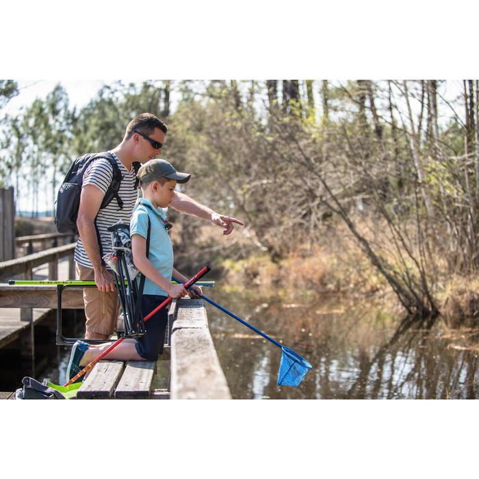 Schepnet ontdekking waterleven blauw