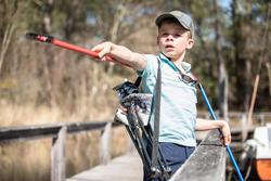 Panoplie découverte de la pêche PREMIER POISSON 300 ROUGE