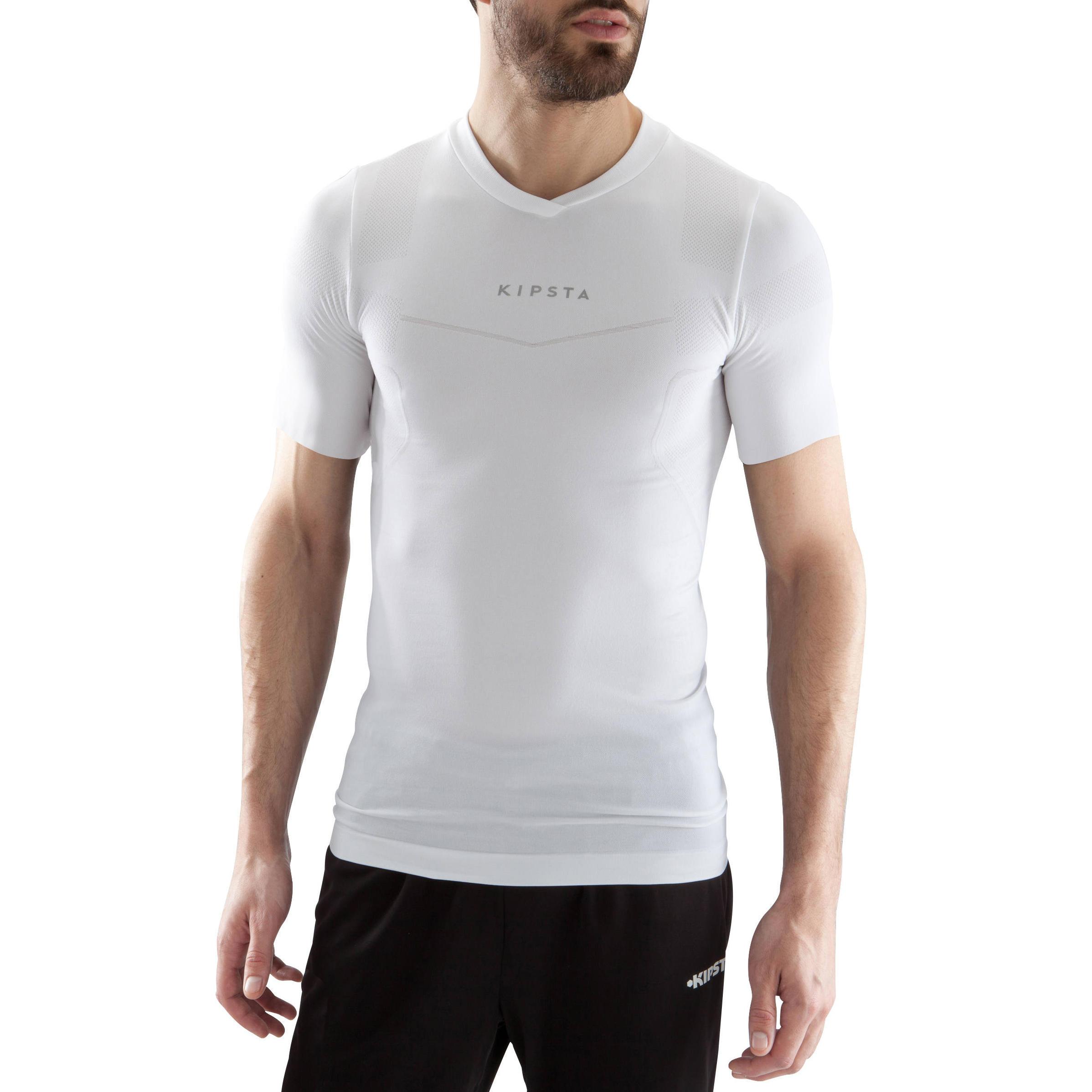 Sous maillot respirant manches courtes adulte Respirant 500 blanc