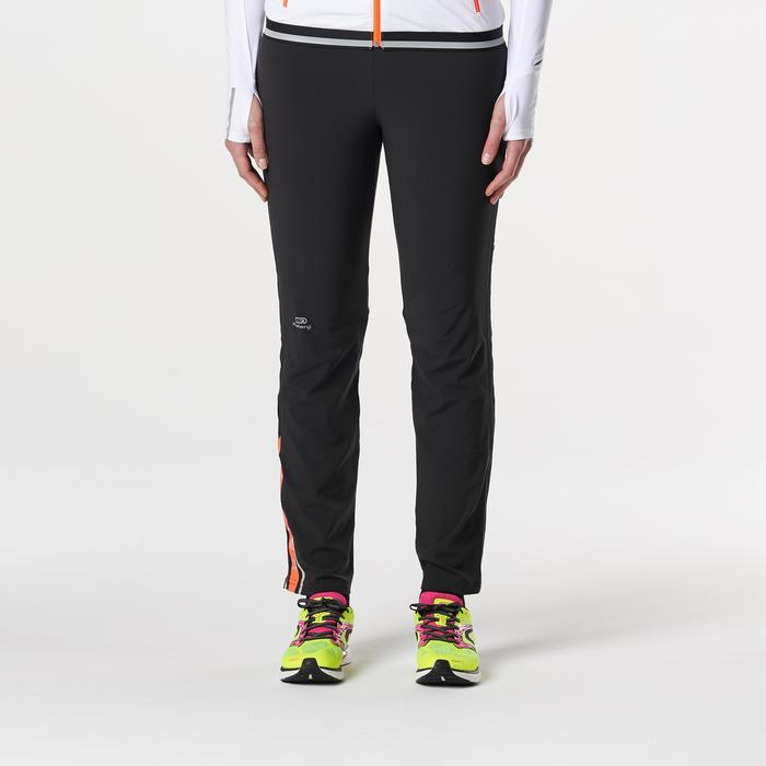 Kalenji Kiprun Women's Running Trousers - Black / Coral - 1185303