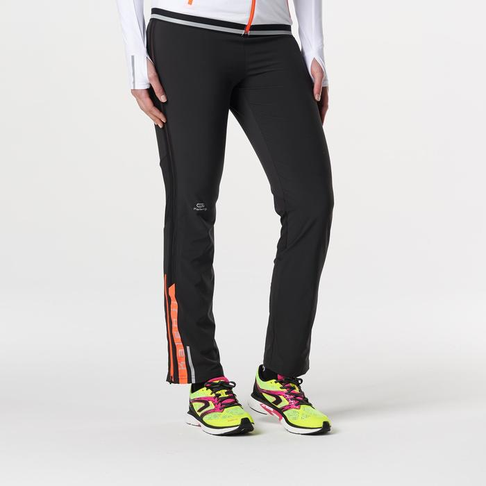 Kalenji Kiprun Women's Running Trousers - Black / Coral - 1185310