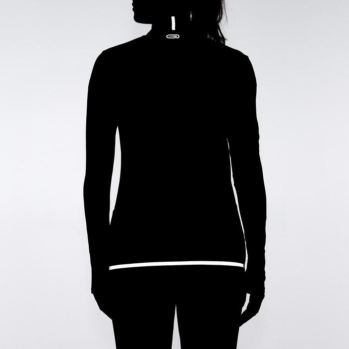 Loopjack voor dames Kalenji Kiprun Warm zwart