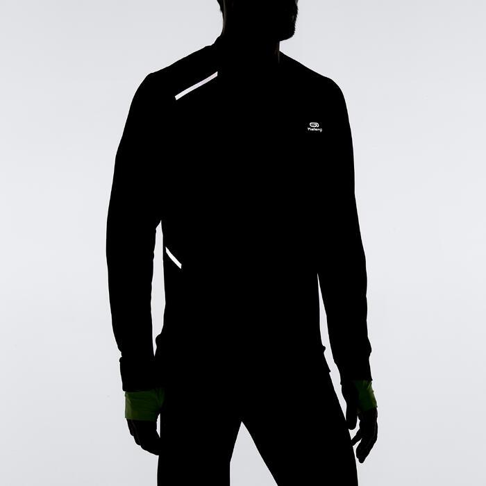 Run Warm+ Men's Running Long-Sleeved T-Shirt - Grey - 1185375