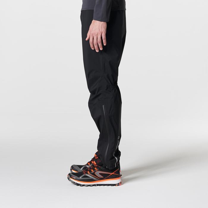 Pantalon imperméable trail running homme noir - 1185387