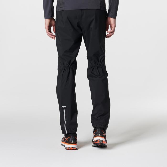 Pantalon imperméable trail running homme noir - 1185400
