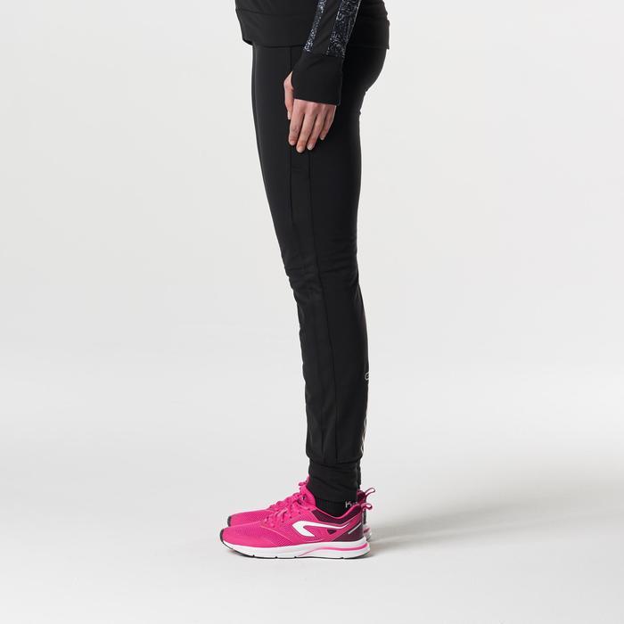 Laufhose Run Warm Damen schwarz