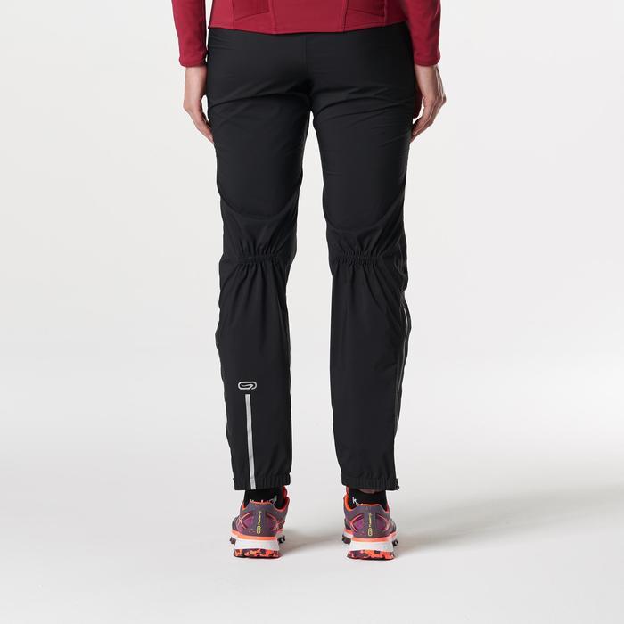 Pantalon imperméable trail running noir femme