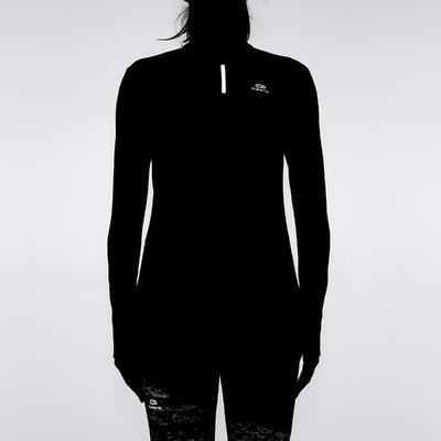 Жіноча футболка Run Warm для бігу, з довгим рукавом - Коралова