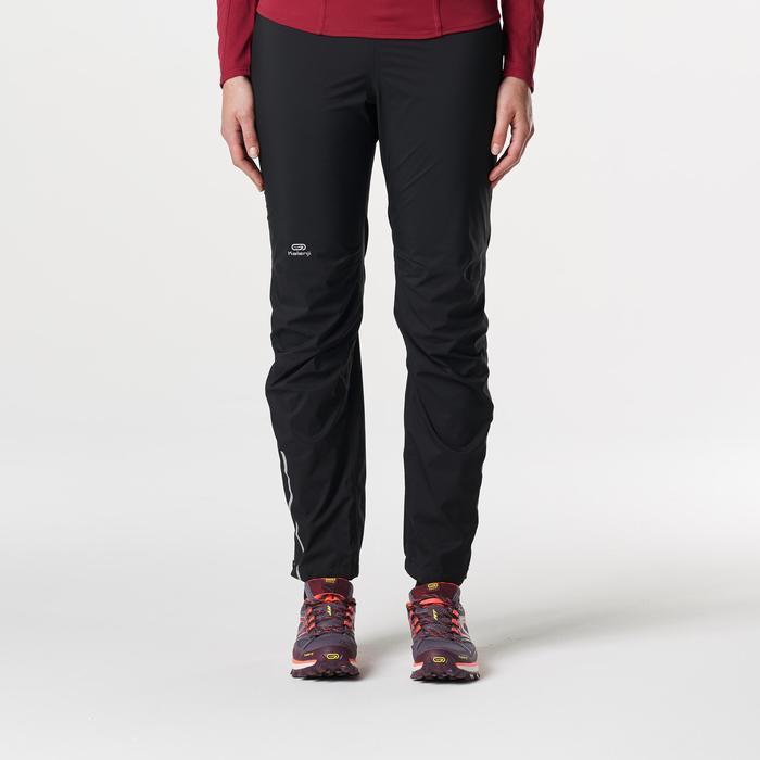 Pantalon imperméable trail running noir femme - 1185468