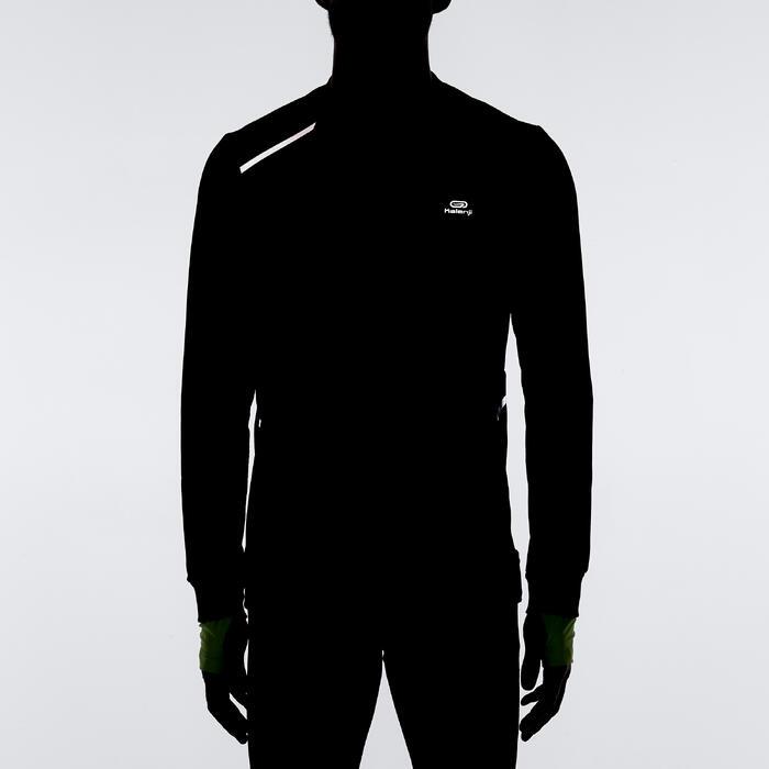 Run Warm+ Men's Running Long-Sleeved T-Shirt - Grey - 1185485