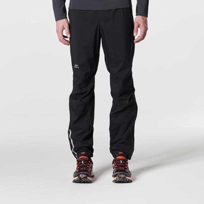 Pantalon imperméable trail running homme noir - 1185489