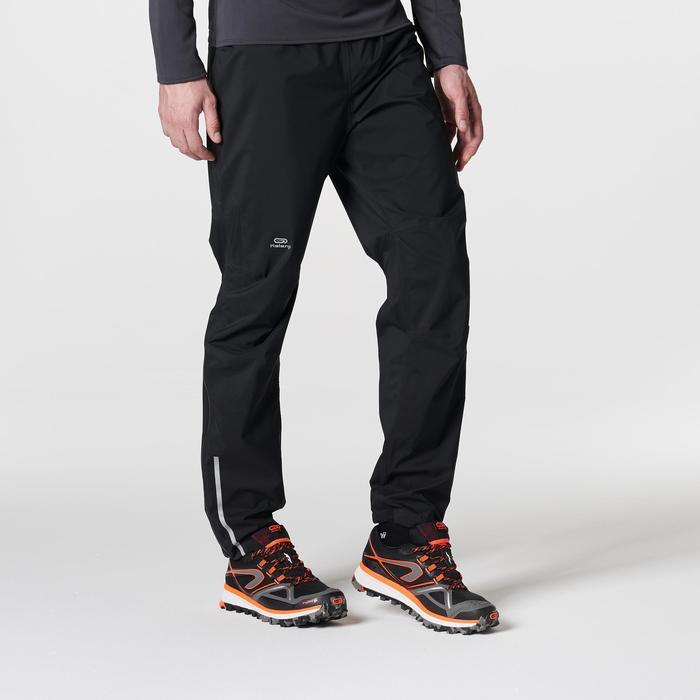 Pantalon imperméable trail running homme noir - 1185504
