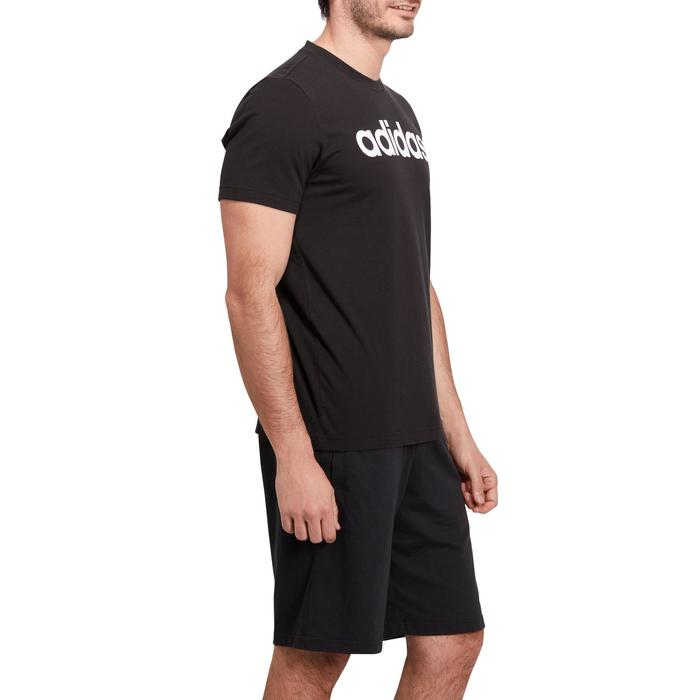 T-shirt Adidas 500 Gym Stretching noir homme - 1185523