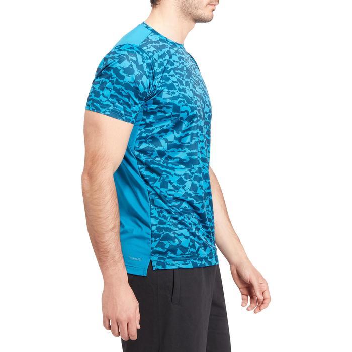 T-shirt fitness homme bleu - 1185536