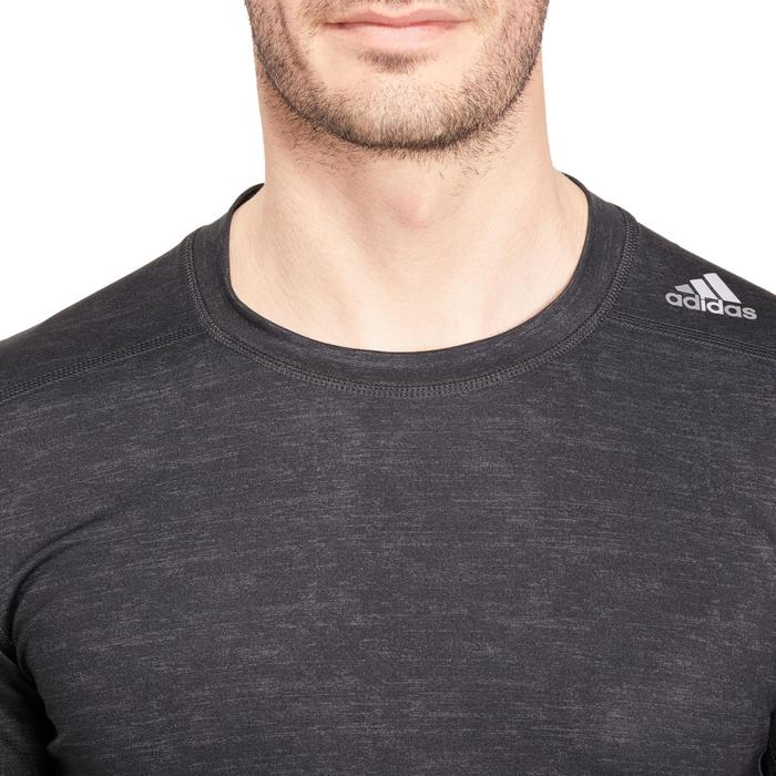 T-shirt fitness homme gris - 1185542