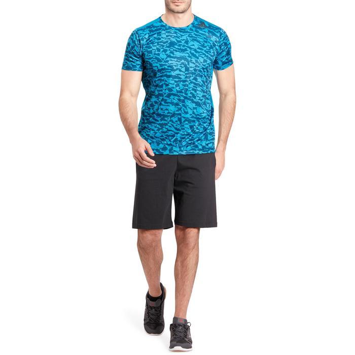 T-shirt fitness homme bleu - 1185559