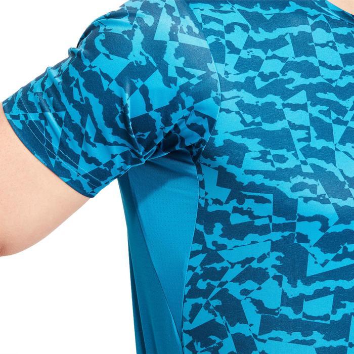 T-shirt fitness homme bleu - 1185582