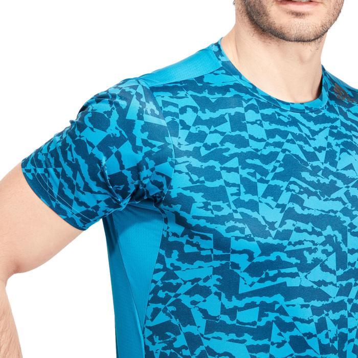 T-shirt fitness homme bleu - 1185625