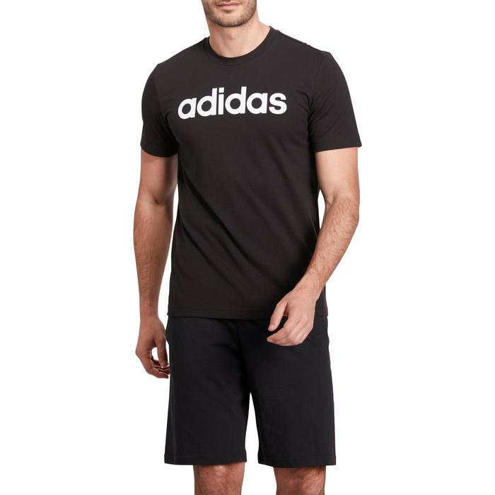 T-shirt Adidas 500 Gym Stretching noir homme - 1185629
