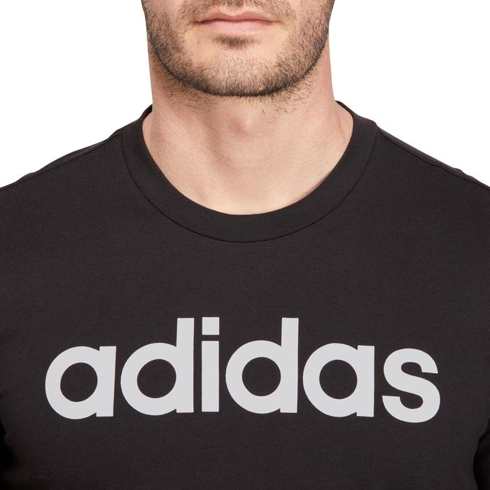 T-shirt Adidas 500 Gym Stretching noir homme - 1185646