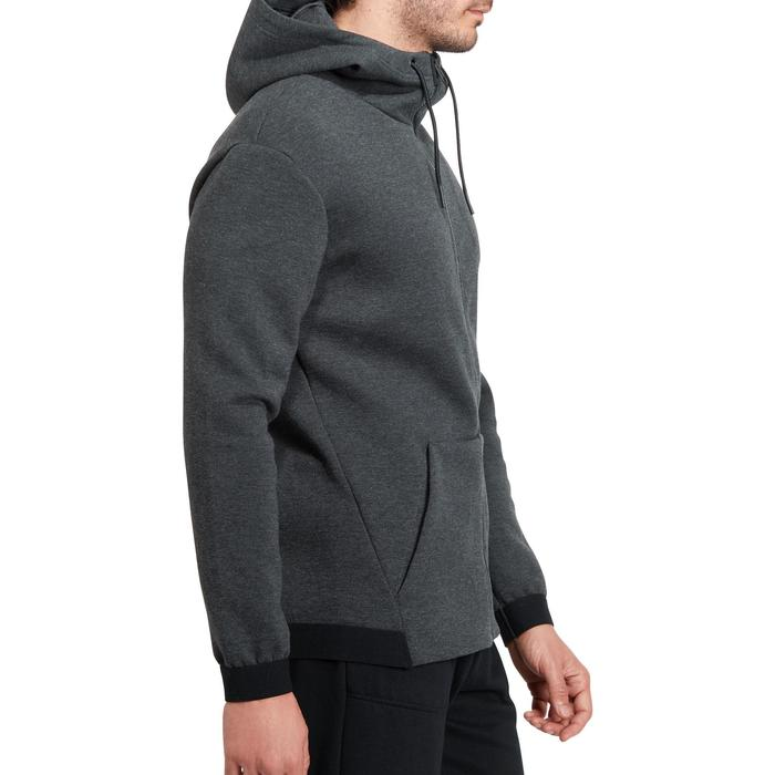 Veste 560 capuche Gym Stretching homme - 1185649