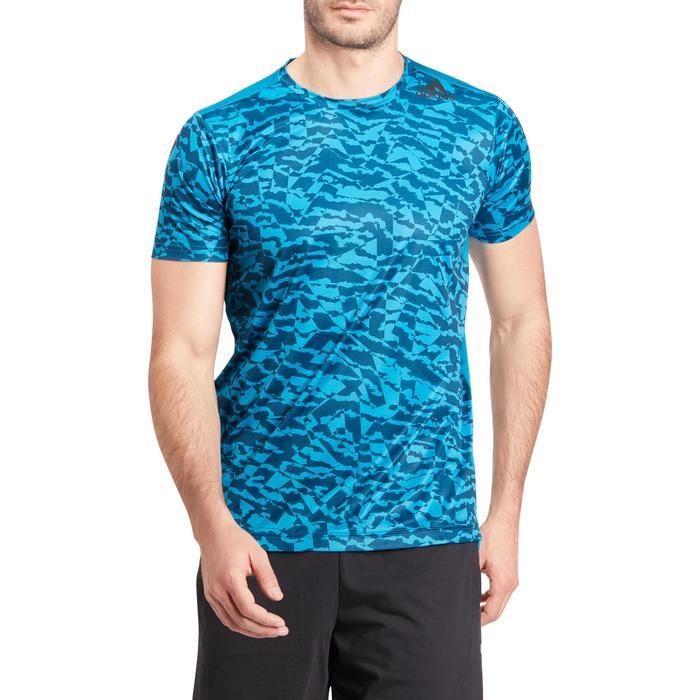 T-shirt fitness homme bleu - 1185662